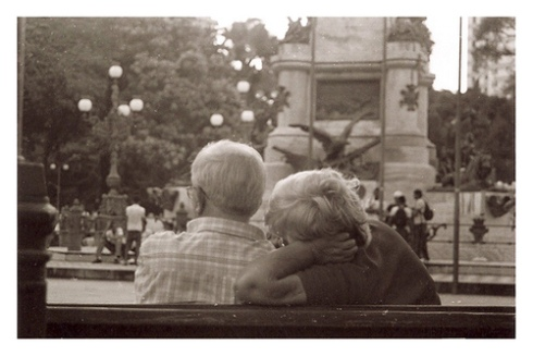 Amor pra vida inteira.